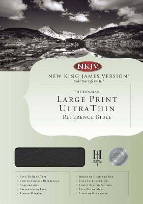 Picture of Ultrathin Large Print Reference - NKJV