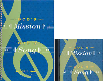 Gods Mission, Gods Song Book/CD Combo