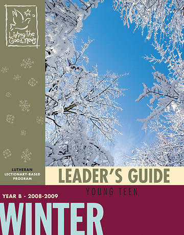 Picture of Living the Good News Winter Leader's Guide 2008 [Lutheran Version]