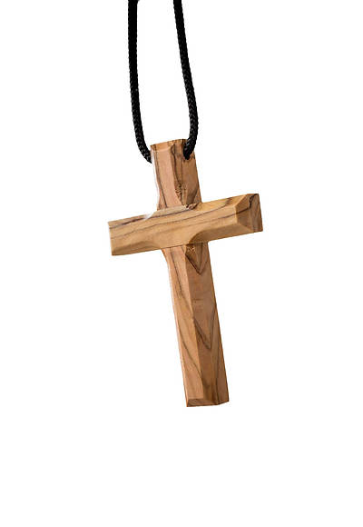 Picture of Small Plain Cross Pendant 3""
