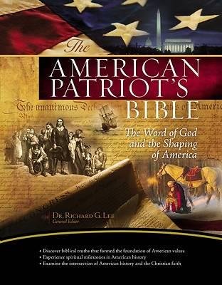 Picture of American Patriot's Bible-NKJV