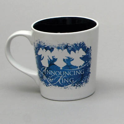 Nativity Greetings Announcing the King Mug