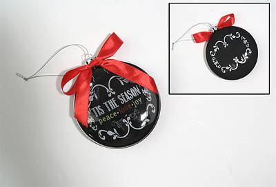 Picture of Chalkboard Blessings Ornament - Joy