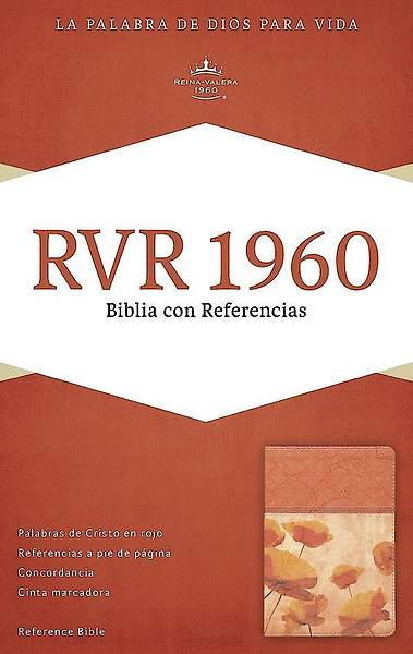 Picture of Rvr 1960 Biblia Con Referencias, Damasco/Coral Simil Piel