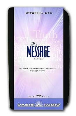 The Message: The Bible in Contemporary Language CD