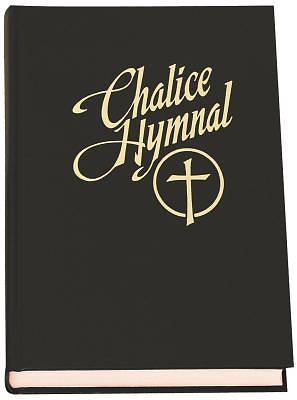 Chalice Hymnal Pew Edition- Black with Cross