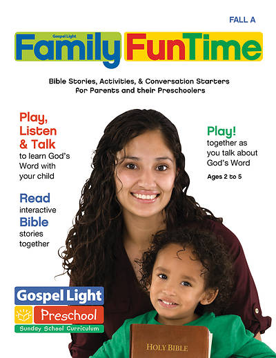 Gospel Light  Family FunTime Take Home Pages Fall