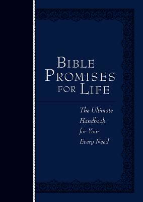 Picture of Bible Promises for Life (Navy)