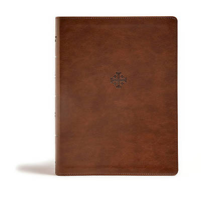Picture of CSB Life Connections Study Bible, Brown Leathertouch, Indexed