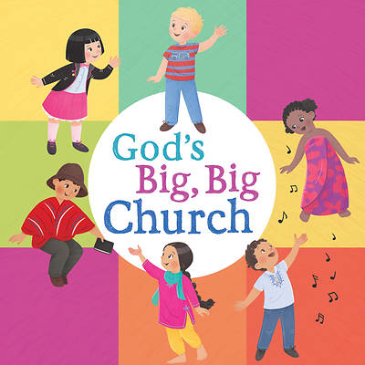 Gods Big, Big Church (Board Book)