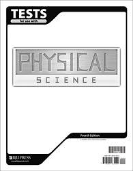 Physical Science Test Pack Grade 9 4th Edition