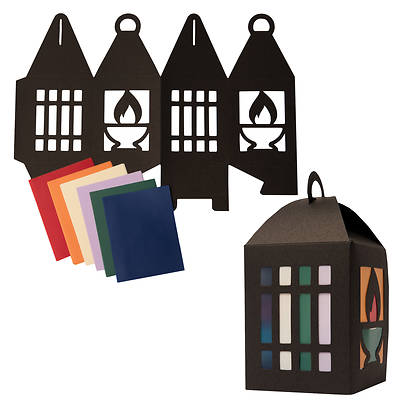 Picture of Vacation Bible School (VBS) 2021 Discovery on Adventure Island Paper Lantern Kit (Pkg of 12)