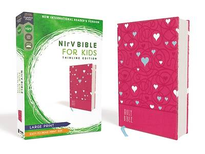 Picture of NIrV Bible for Kids, Large Print, Leathersoft, Pink, Comfort Print