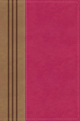 Picture of NIV, Biblical Theology Study Bible, Imitation Leather, Pink/Brown, Indexed, Comfort Print