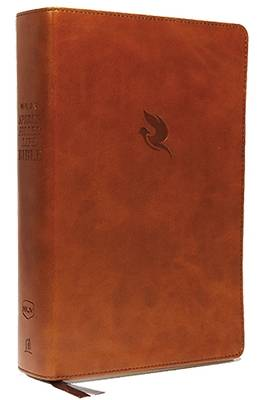 Picture of NKJV, Spirit-Filled Life Bible, Third Edition, Imitation Leather, Brown, Indexed, Red Letter Edition, Comfort Print