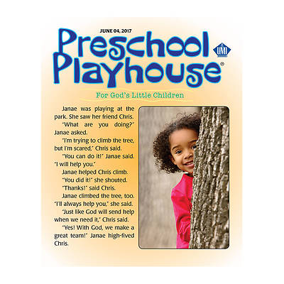 Picture of UMI Preschool Playhouse Student Summer 2017