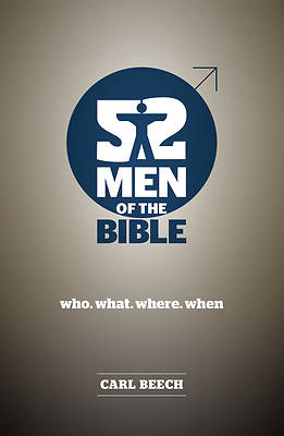 Picture of 52 Men of the Bible