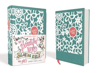NIV Beautiful Word Coloring Bible for Girls, Imitation Leather, Teal