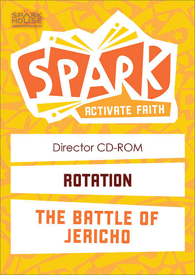 Spark Rotation The Battle of Jericho Director CD