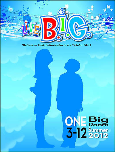 Picture of Live B.I.G. One Big Room Leader's Guide Summer 2012