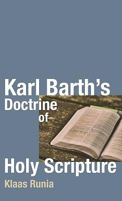 Picture of Karl Barth's Doctrine of Holy Scripture