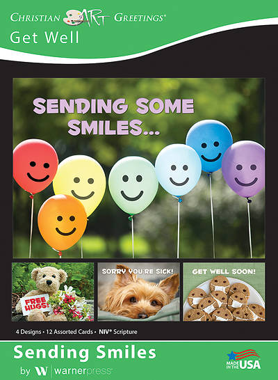 Picture of Sending Smiles Get Well Boxed Cards (Box of 12)