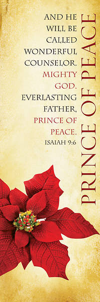 Picture of Prince of Peace 2'x6' Banner