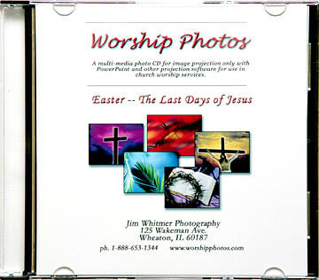 Worship Photos Easter -- The Last Days of Jesus CDROM