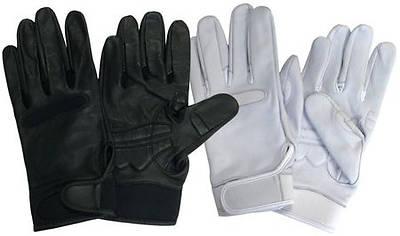 Picture of UltimaGlove Leather Handbell Gloves - Black, Large