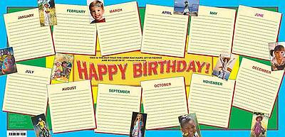 Happy Birthday Chart (Children)