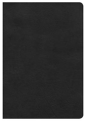 Picture of NKJV Super Giant Print Reference Bible, Black Leathertouch, Indexed