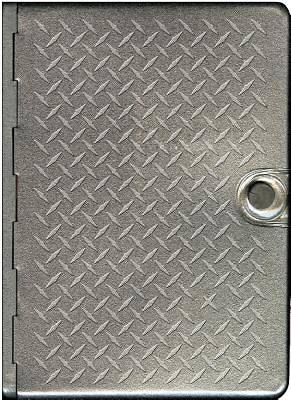 New Living Translation Metal Bible Diamond Plate