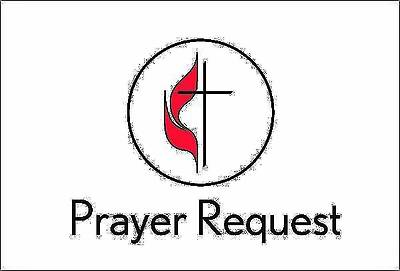 United Methodist Prayer Request Card (Pkg of 25)