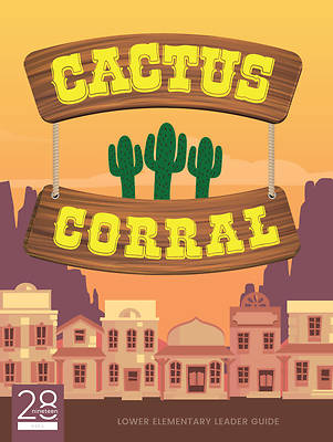 Picture of 28nineteen Cactus Corral Lower Elementary Leader Guide