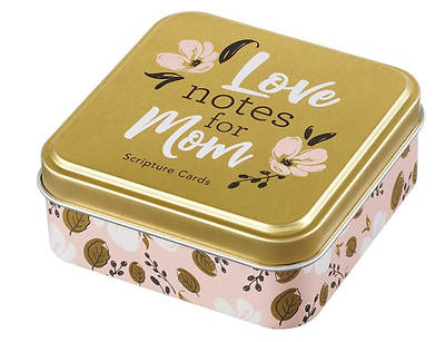 Picture of Love Notes for Mom Scripture Cards in Tin
