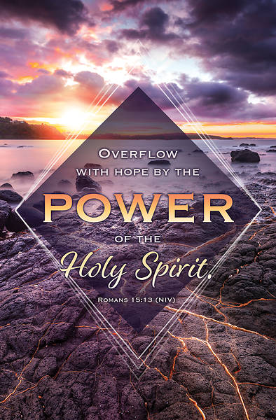 Picture of Power of the Holy Spirit General Regular Size Bulletin