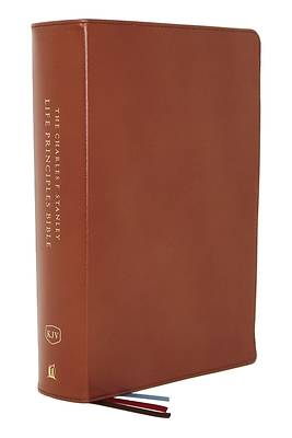 Kjv, Charles F. Stanley Life Principles Bible, 2nd Edition, Genuine Leather, Brown, Indexed, Comfort Print