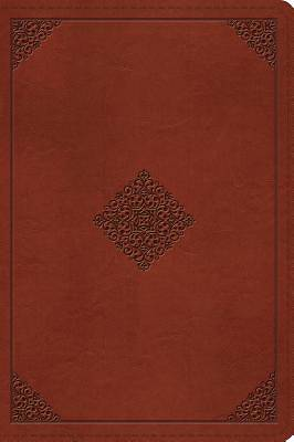 Picture of ESV Large Print Bible (Trutone, Tan, Ornament Design)