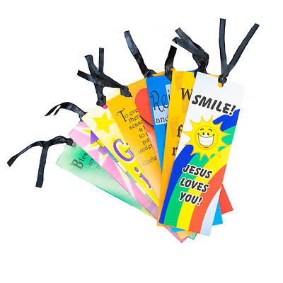 Picture of Vacation Bible School VBS 2021 Religious Sayings Bookmark (24 Pack)