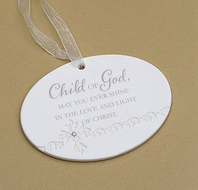 Child of God Baptism Ornament