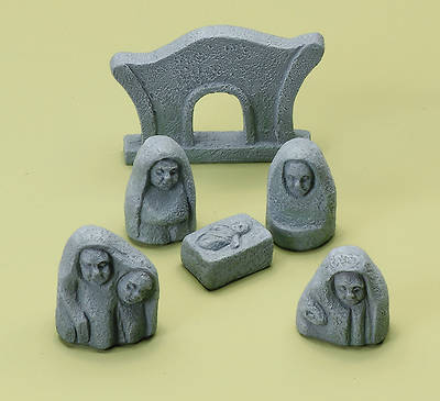 Celtic Nativity Set (6 Pieces)