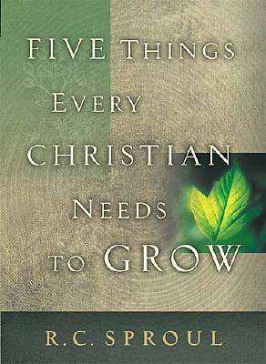 Five Things Every Christian Needs to Grow