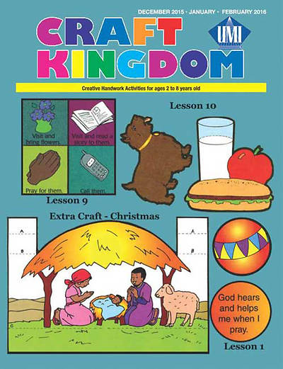 Picture of UMI Preschool Craft Kingdom Winter 2015-16