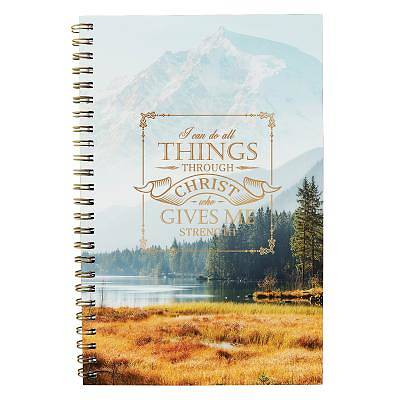 Picture of Notebook All Things Through Christ