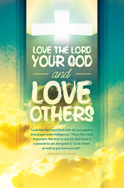 Love The Lord Your God General Worship Bulletin