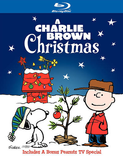 A Charlie Brown Christmas Blue Ray DVD
