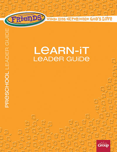 Picture of FaithWeaver Friends Preschool Learn-It Leader Guide Winter 2015-16