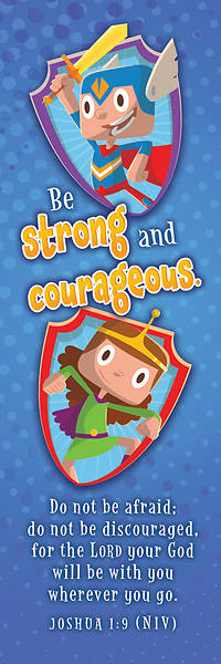 Picture of Be Strong and Courageous Bookmark
