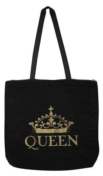 Picture of Queen Woven Tote Bag