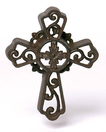 Picture of Cast Iron Cross 10""